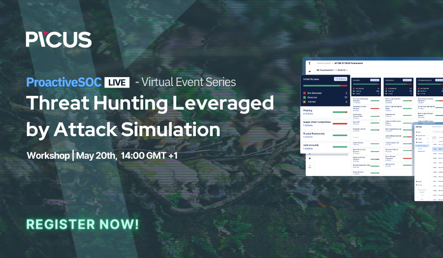 Threat Hunting Leveraged by Attack Simulation