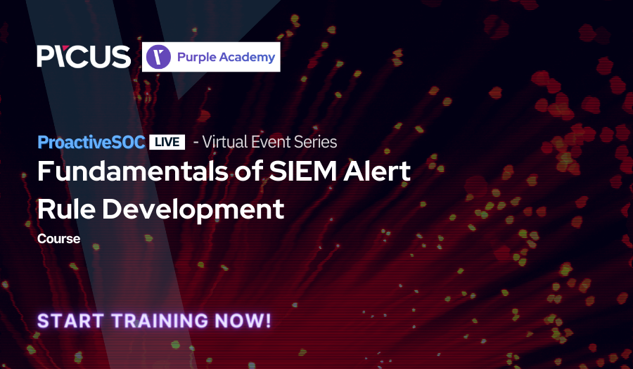 Fundamentals of SIEM Alert Rule Development