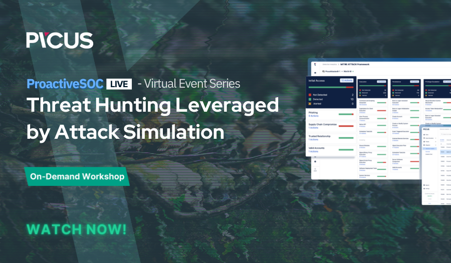 On Demand: Threat Hunting Leveraged by Attack Simulation