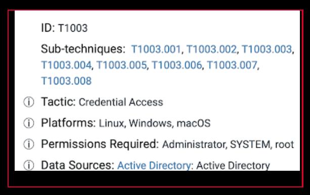 OS-Credential-Dumping-Technique